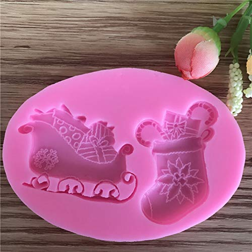 TIANDI Schuhe Rahmen Fondant KuchenformenSchokoladenform für die Küche Backfarbe zufällig