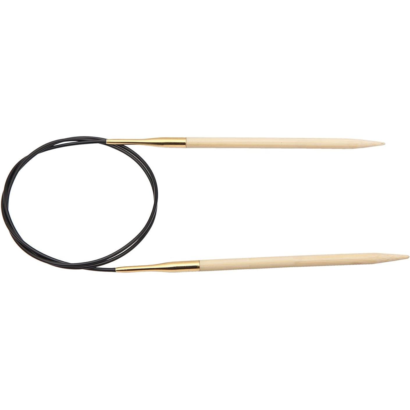 Knitter's Pride 7/40.5mm Bamboo Fixed Circular Needles, 16