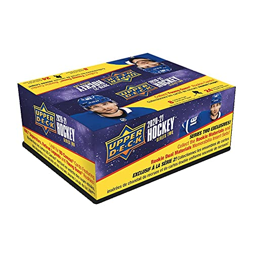 2020/21 Upper Deck Series 2 Hockey Retail Box