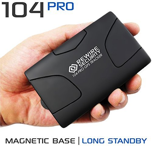 GPS Tracker Magnetic Rewire Security 104 PRO...