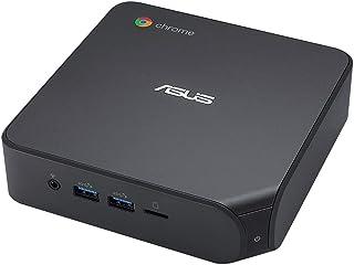 ASUSTek Chromebox4 ミニPC 小型PC (i5-10210U/Chrome OS/コンパクト/4K/USB Type-C/WiFi6/DDR4-2666/128GB M.2 SSD ブラック