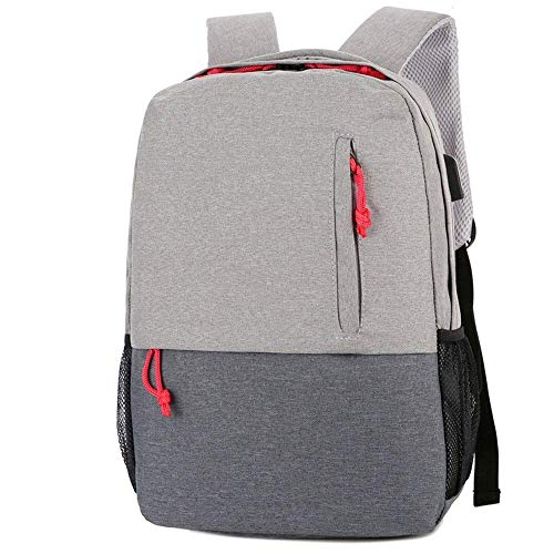 YIXIN 15.6 pulgadas portátil mochila para hombres mochila mochila antirrobo mochila con USB casual Daypacks deportes bolsa