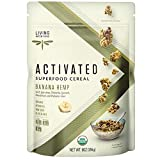 Living Intentions Organic Superfood Cereal – Banana Hemp – NonGMO – Gluten Free – Vegan – Paleo – Kosher – 9 Ounce Unit by Living Intentions