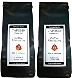 Capomo Herbal Coffee Substitute - Acid Free, Caffeine Free And Gluten Free - Natural Dark Roast - Maya Nut , - 2 Pack From Tattva's Herbs -22 oz