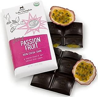 Lake Champlain Chocolates Chocolate Bar, Passion Fruit, 3.25 Ounce (Pack of 10)