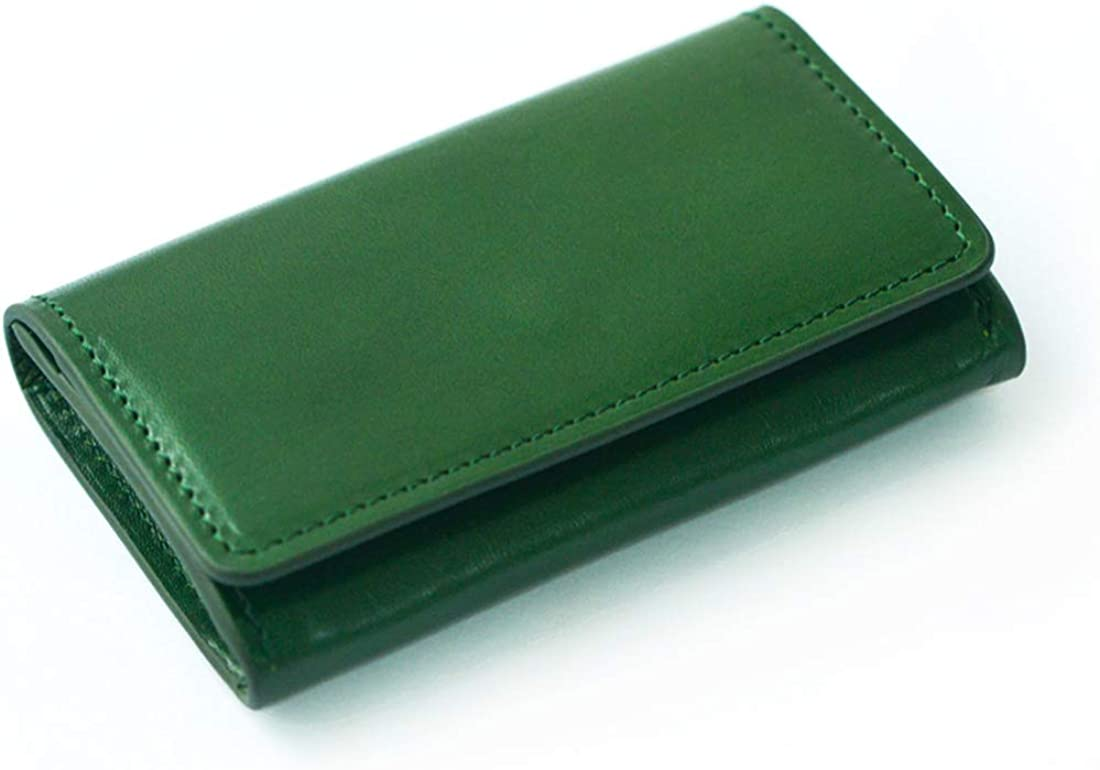 Kraft Card Holder - Neutral Style - Vintage Green - Business Car