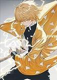 JHGJHK Anime japonés Katana Sword Boy Pintura al óleo Sala Familiar Sala de Estar Dormitorio Decoración Anime Fan Pintura al óleo Decoración (Imagen 1)
