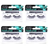 Ardell Natural Lashes False Eyelashes 111 Black (4 pack)