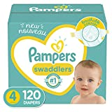 Diapers Size 4, 120 Count - Pampers Swaddlers Disposable Baby Diapers diaper bag backpack May, 2021
