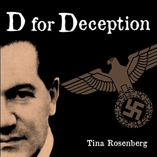 D for Deception audiobook cover art