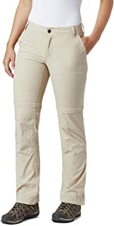 Columbia Women's Silver Ridge 2.0 Convertible Pants, Beige (Fossil 160), 6