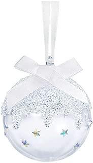 SWAROVSKI Christmas Ball, Small Ornament, Aurore boreale/Crystal Moonlight