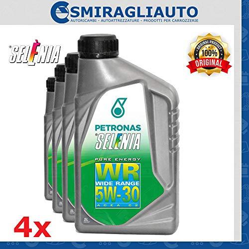 4Liter synthetisches Motor-Öl Selenia WR Pure Energy SAE 5W30ACEA C2
