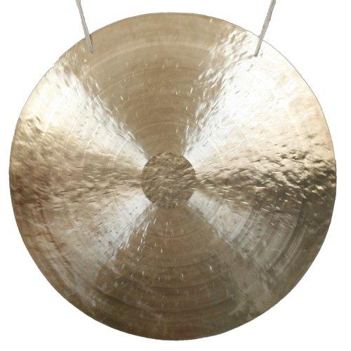 Original Feng Gong, Wind Gong aus China 90 cm, toller Klang, inklusiv Holz-/ Baumwollklöppel -7007-