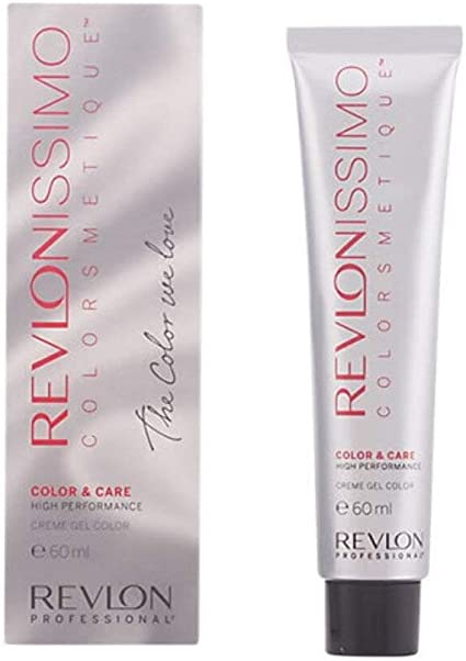 Revlon Revlonissimo Colorsmetique Naturales, Tinte para el Cabello 001 Negro - 60 ml