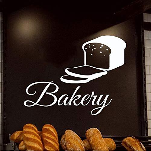 Gebäck Bäckerei Bäckerei Gebäck Kuchen Keks Essen Wandtattoo Vinyl Wohnkultur Küche Fenster Aufkleber Innenarchitektur Wandbild 54X42 cm