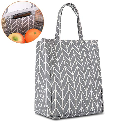 Portable Simple imperméable thermique isolé Lunch Box Tote Storage Picnic Sac 9