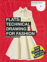 Flats( Technical Drawing for Fashion [With CDROM])[FLATS W/CD][Paperback]