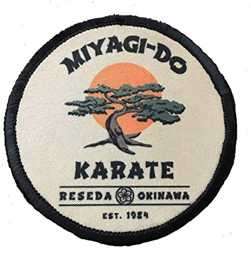 Karate Kid Miyagi Do 3' Circle Morale Patch Military Tactical Made in The USA
