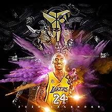 2020 Kobe Bryant History Calendar