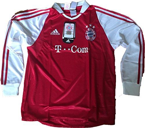 adidas Langarm Trikot FC Bayern München Home 2004/2005 152 (164)
