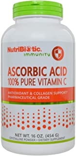 Nutribiotic Ascorbic Acid Powder, 16 Ounce