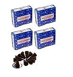 Nag Champa conos incienso varillas Super Hit Dhoop 4 x 12 = 48 conos Original Hecho a mano en la India