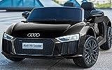 Kinderfahrzeug - Elektro Auto 'Audi R8B' - lizenziert - 12V7Ah Akku und 2 Motoren- 2,4Ghz + MP3 +...