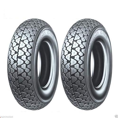 Paire pneus Pneu Michelin s83 3.50 10 59J TL pour piaggio aPE 50