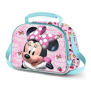 KARACTERMANIA Minnie Mouse Star-Bolsa Portameriendas 3D, Multicolor