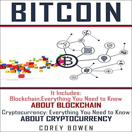 Bitcoin: 2 Manuscripts: Blockchain, Cryptocurrency audiobook cover art