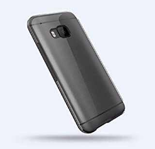 Amazon Dot View Ice Premium Gray Flip Cover Shell Case For HTC One M9