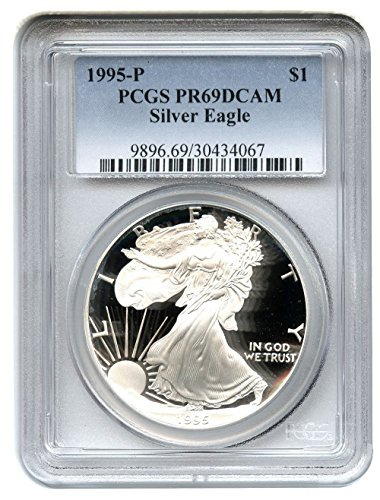 1995 P American Eagle Dollar PR69 PCGS