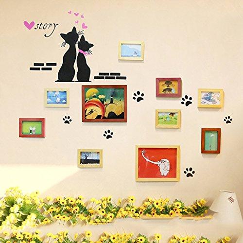 Cadres photo Cartoon Enfants Salle de Vacances Autocollants muraux Multi-Images Photo Cadres Bricolage Maison Mur décoration Cadre pièces
