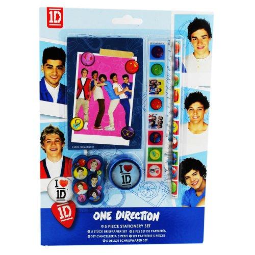 Schreib-Set - One Direction - 5 Teilig