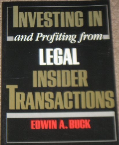 Investing in and Profiting from Legal Insider Transactions