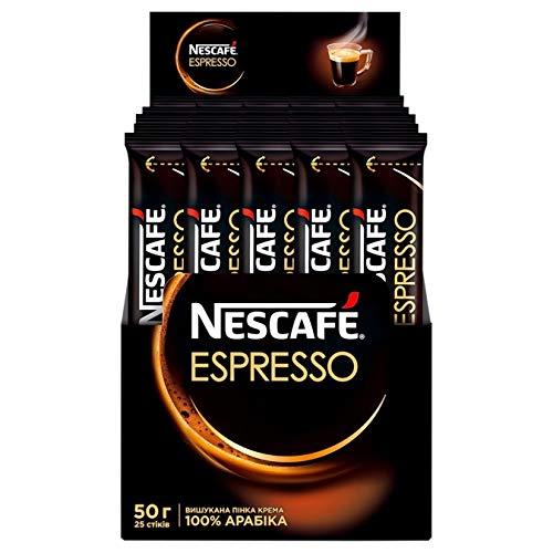Nescafe Instant Coffee Sticks 25 sticks 1.76oz (Espresso)