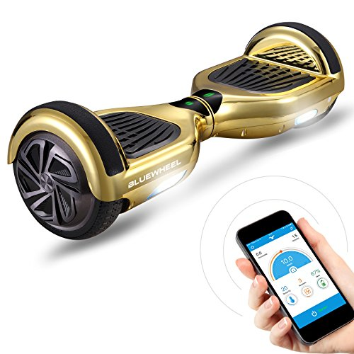 """6.5\"""" Premium Hoverboard Bluewheel HX310s - Deutsche Qualitäts Marke - Kinder Sicherheitsmodus & App - Bluetooth Lautsprecher - Starker Dual Motor - LED - Elektro Skateboard Self Balance Scooter"""