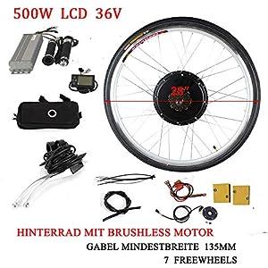 Berkalash - Kit de conversión para bicicleta eléctrica (26