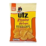 UTZ Ripples Barbeque Potato Chips 2.875 oz Bags - Pack of 14