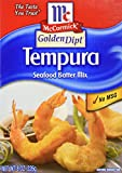 McCormick Golden Dipt Tempura Seafood Batter Mix 8 Ounces (Pack of 3)