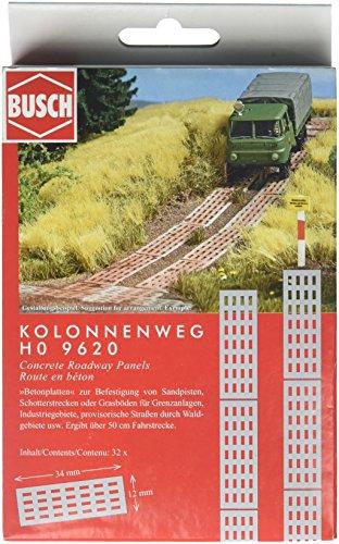 Busch 9620 Plaque de Route en béton Modèle échelle de Paysage