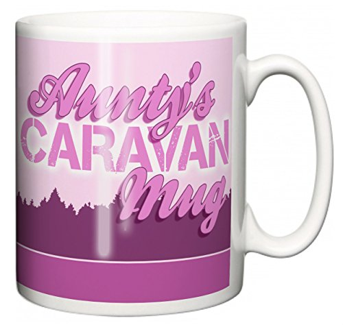 "IiE, Aunty\'s Caravan Mug \"", mit Aufschrift\"" I love my Wobble-Box, camping, Kaffee oder Tee Tasse"