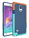 Jeylly Note 4 Case, Galaxy Note 4 Case, [3 Color] Slim