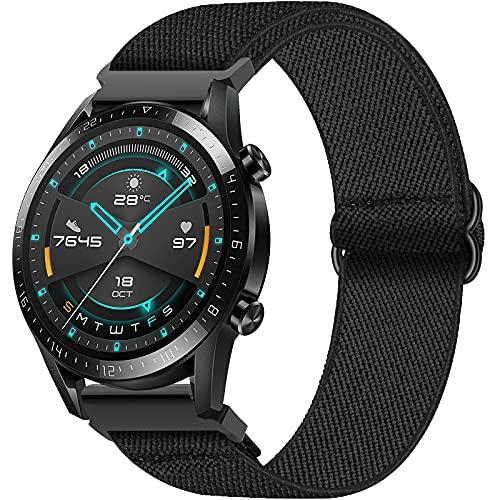 Correa per Huawei GT 2 46mm/Samsung Galaxy Watch 3 45mm/Galaxy Watch 46mm, Hatolove Correa de Elastics Nylon de 22mm per Gear S3 Frontier/Huawei Watch GT2 Classic/GT2 Pro 46mm/Watch GT 2e/GT Sport