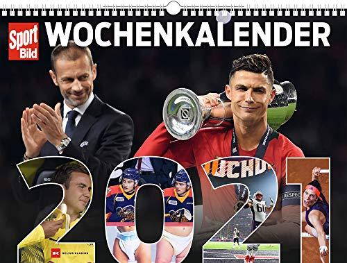 SportBild Sportbilder 2021: Wochenkalender