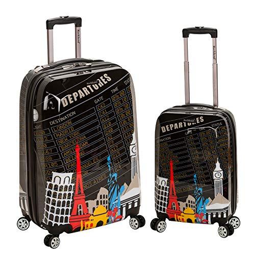 Rockland Departure Hardside Spinner Wheel Luggage Set