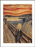 1art1 Edvard Munch - Der Schrei Poster Kunstdruck 80 x 60