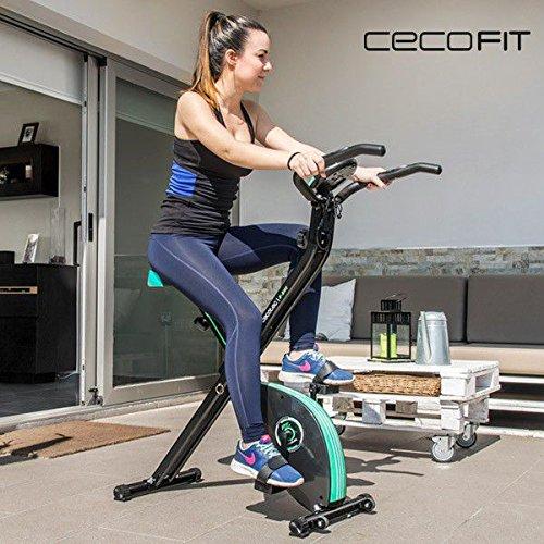 Ti presentiamo le migliori novit in tema di attrezzi per la palestra, come la cyclette pieghevole Cecofit X-Bike!Cyclette pieghevole con funzionamento magneticoSistema Silence Fit: pedatala pi¹. . .