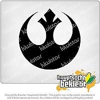 反乱同盟/ジェダイ Rebel Alliance/Jedi 10cm x 10cm 15色 - ネオン+クロム! ステッカービニールオートバイ